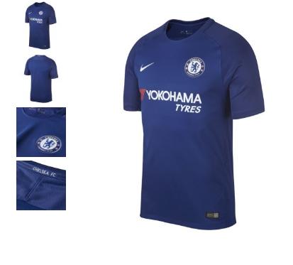 Maillot de football Nike Chelsea FC 17/18 Exterieur / Domicile - Taille  L -XL-XXL