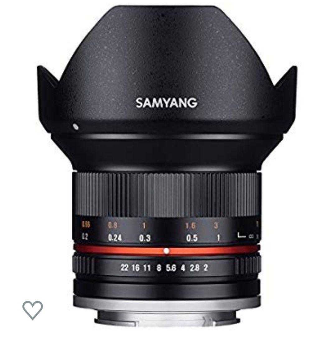 Objectif Samyang pour Sony E 12 mm F2 NCS CS Noir
