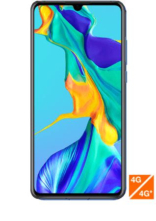 "Smartphone 6.1"" Huawei P30 (full HD+, Kirin 980, 6Go de RAM, 128Go, différents coloris) + montre connectée Huawei WatchGT ou coque (via ODR)"