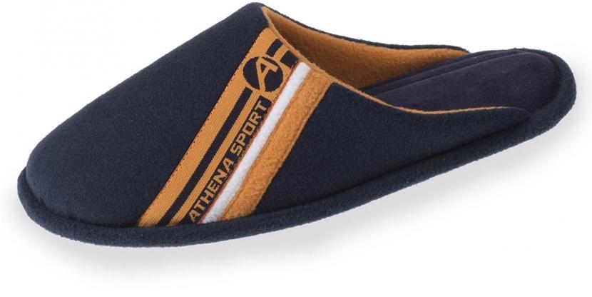 Jusqu'à 60% de réduction sur une sélection d'articles Isotoner - Ex : chaussons mules Athena Sportswear - bleu (du 40 au 45)