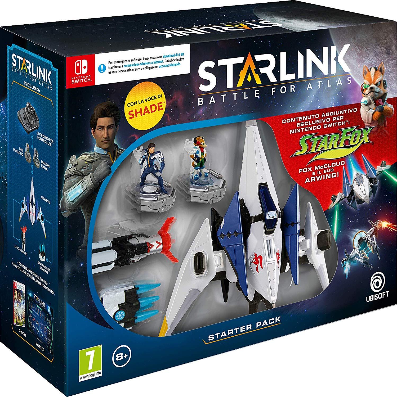 Pack de démarrage Starlink Starter sur Nintendo Switch