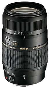 Objectif Tamron AF 70-300mm F/4-5,6 Di LD IF Macro 1/2 pour Monture Canon