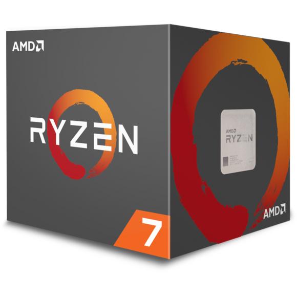 Processeur AMD Ryzen 7 2700 Wraith Spire LED - 3,2/4,1 GHz + 3 mois d'accès au Xbox Game Pass