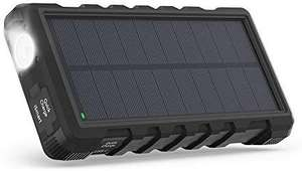 Batterie externe portable solaire RavPower - 25000 mAh (vendeur tiers)
