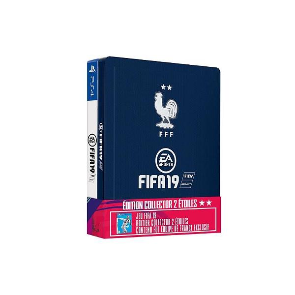 Jeu FIFA 19 - Édition Collector 2 Étoiles sur PS4 /  Xbox One