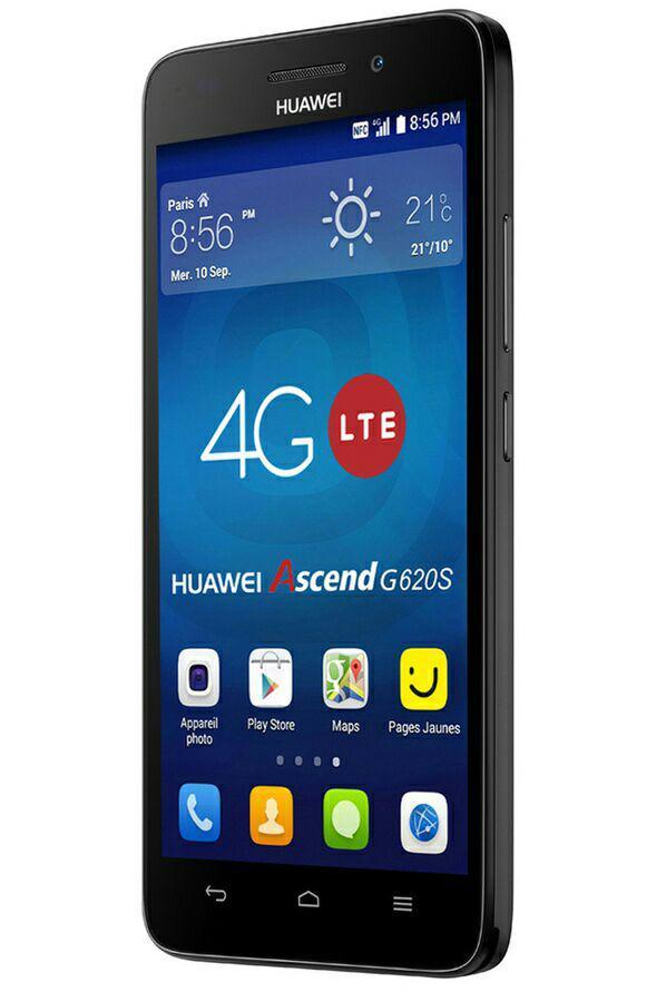 "Smartphone 5"" Huawei G620s 8Go 4G Noir (30€ ODR)"