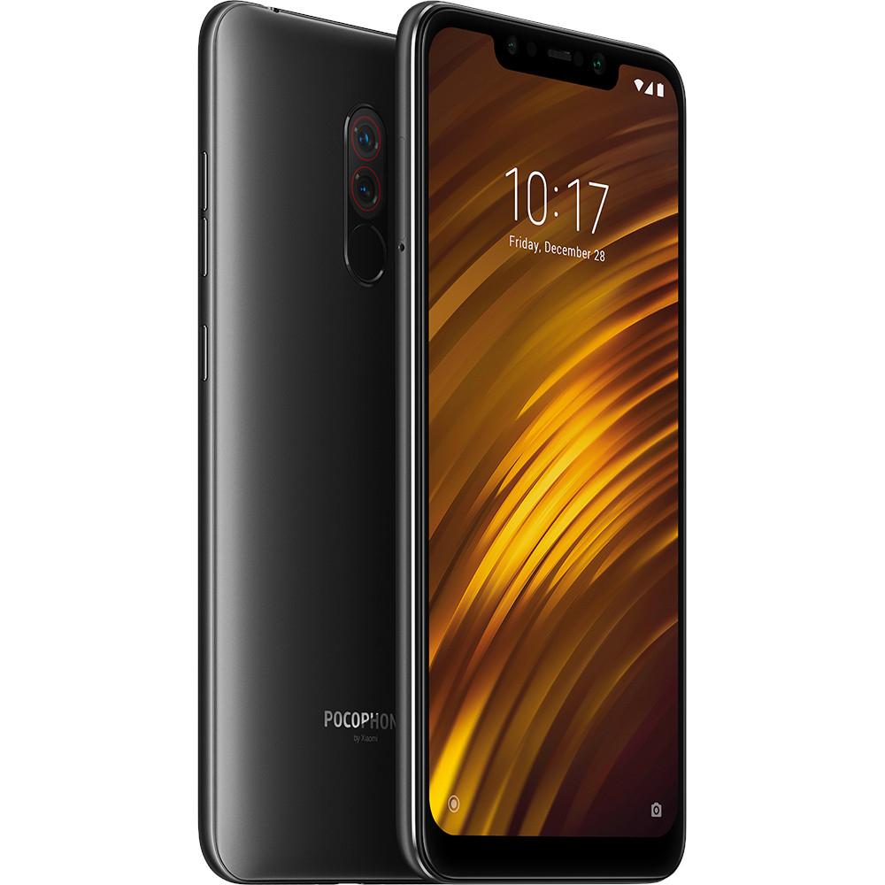 "Smartphone 6.18"" Xiaomi Pocophone F1 - full HD+, SnapDragon 845, 6 Go de RAM, 64 Go, noir (via ODR de 50€)"