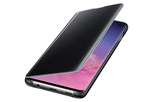 Coque de protection pour smartphone Galaxy S10e Samsung Clear View Cover - noir (via ODR de 20€)