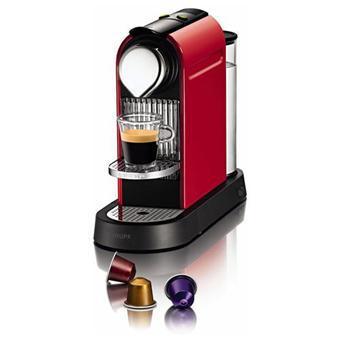 [Adhérents] Machine Krups Nespresso Citiz Rouge Flamme (avec ODR 100€) + 42,46€ sur la carte