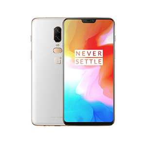 "Smartphone 6.2"" OnePlus 6 Dual SIM - Differents coloris, RAM 8Go, 128Go"