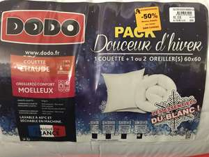 Pack douceur d'hiver Dodo 1 Couette + 2 Oreillers (Schweighouse 67)