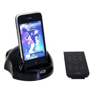 Station d'accueil H&B IP-Station 200 pour iPod/iPhone avec télécommande