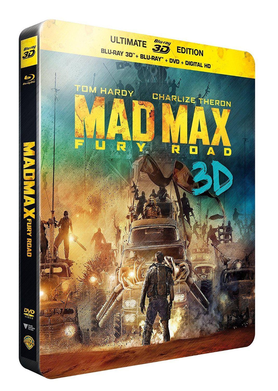 Sélection de Films et de Coffrets DVD et Blu-Ray à -50% - Ex: Coffret Game Of Thrones saison 1 à 4 à 37€99 / Steelbook Mad Max Fury Road