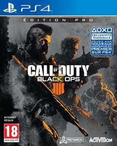 Jeu Call Of Duty: Black Ops 4 Pro Edition sur PS4