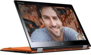 "Lenovo Yoga 3 14 Ordinateur portable Hybride Tactile 14"" Orange (Intel Core i7, 8 Go de RAM, SSD 256 Go, Nvidia GeForce G940, Windows 10)"