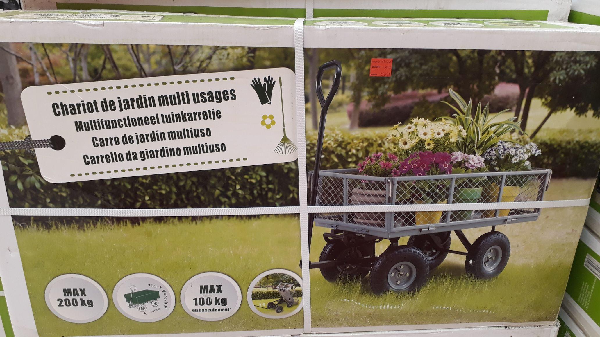 Chariot de jardin multi-usages (Deux modèles) - Chelles (77)