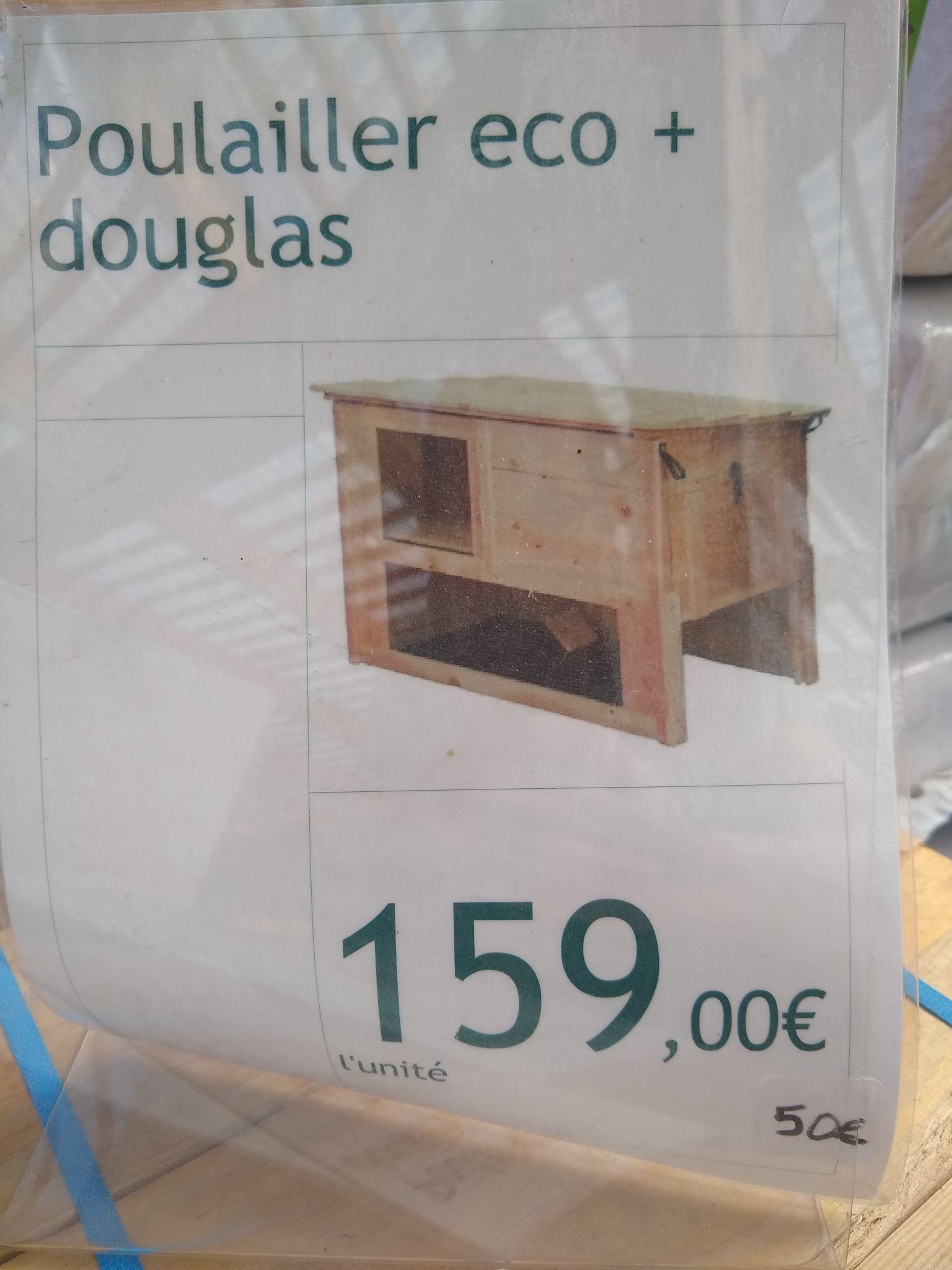 Poulailler Eco+ Douglas (Villefranche-sur-Saône 69)