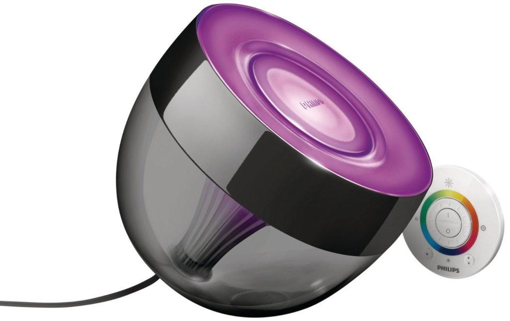 Lampe LED Philips 7099930PH LivingColors Iris - Noire ou blanche