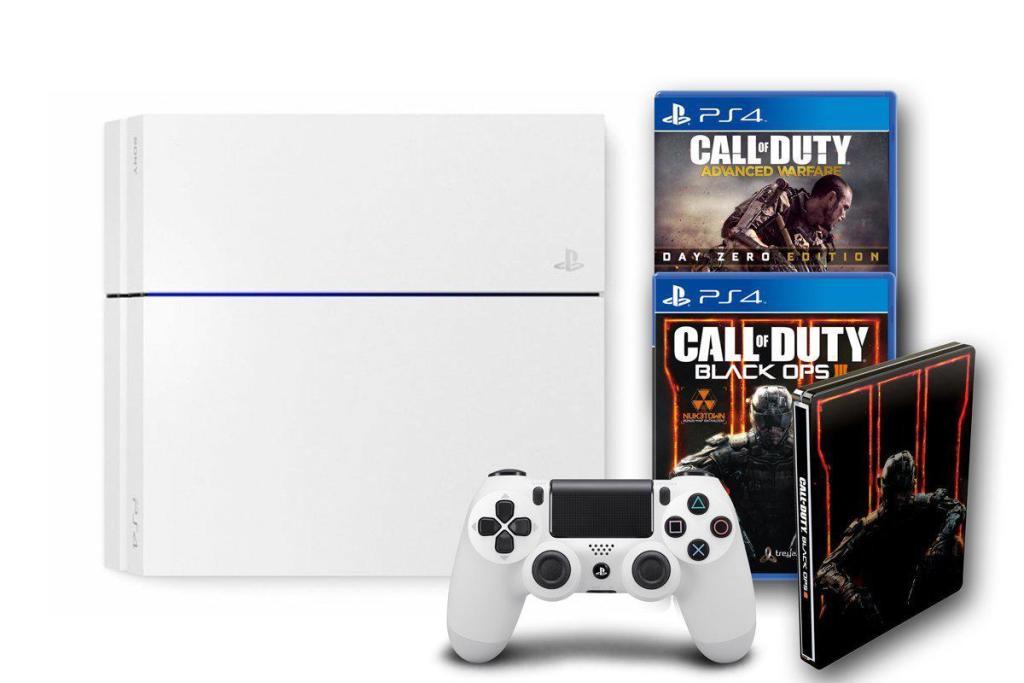 Sélection de bundles PS4 en promotion - Ex : PS4 500Go Blanche + Call of Duty Black Ops III & Advanced Warfare