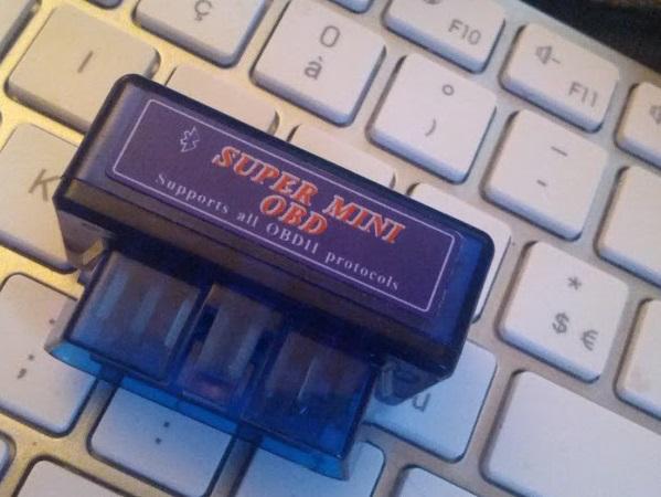 Interface bluetooth ELM327