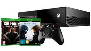 Pack Xbox One 500go + Halo 5 : Guardians + (Call of Duty Black Ops III ou Star Wars Battlefront au choix)