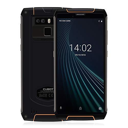 """Smartphone 5.5"""" Cubot King Kong 3 - IP68 Etanche, Antichoc / Antipoussière, 4 Go RAM, 64 Go Stockage, Double Nano-SIM, Noir (Vendeur tiers)"""