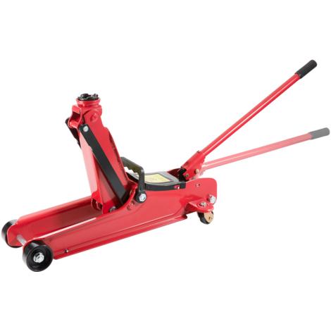 Cric Roulant Hydraulique de voiture Capacité 3T