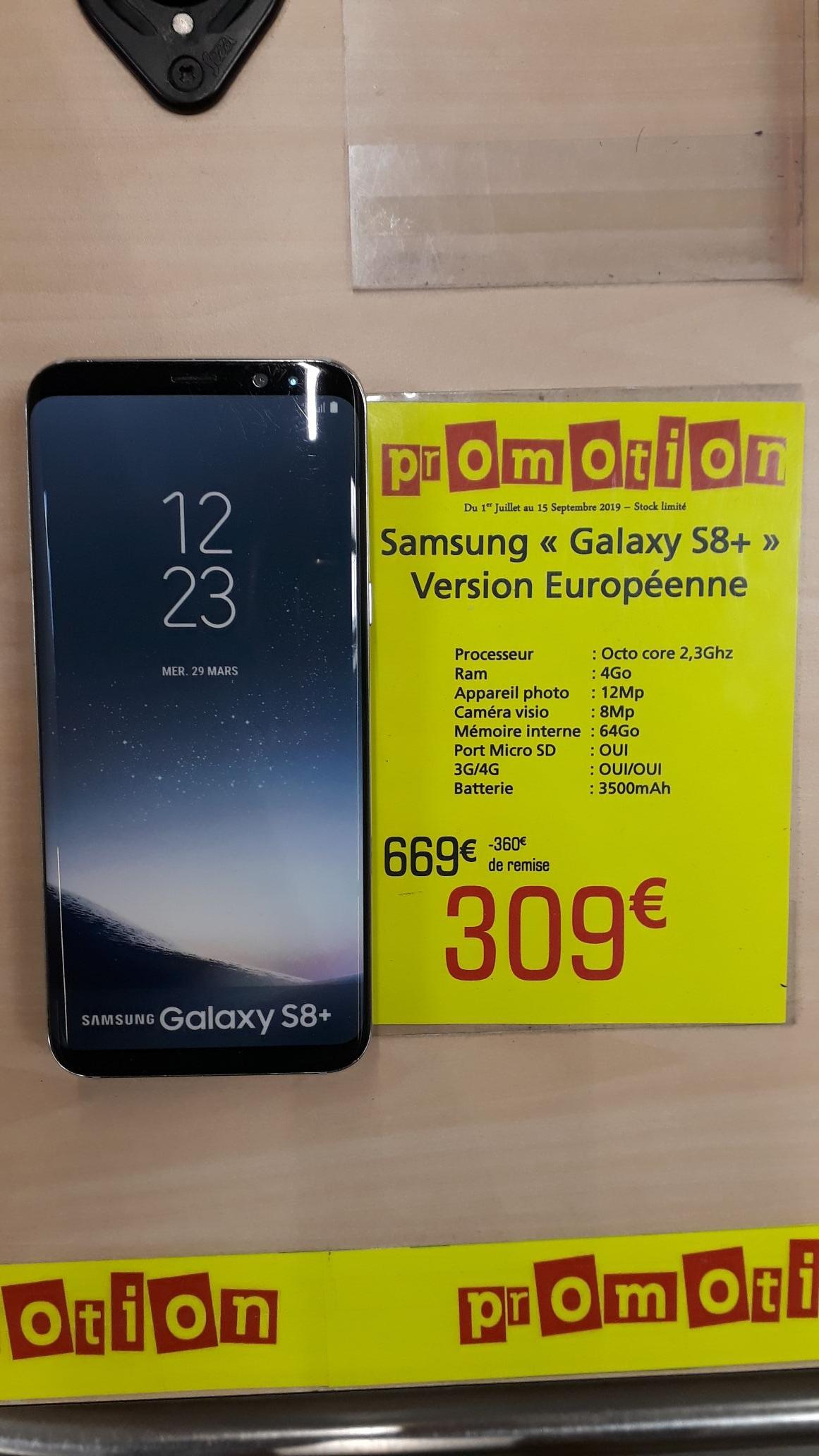 "Smartphone 6.2"" Samsung Galaxy S8+ Plus - RAM 4 Go, 64 Go - Langon (33)"