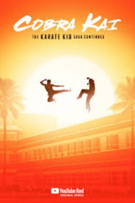 Série Cobra Kai (Karaté Kid) visionnable Gratuitement en Streaming (VOSTFR) - Saison 1 du 29/8 au 11/9 & Saison 2 à partir du 11/9