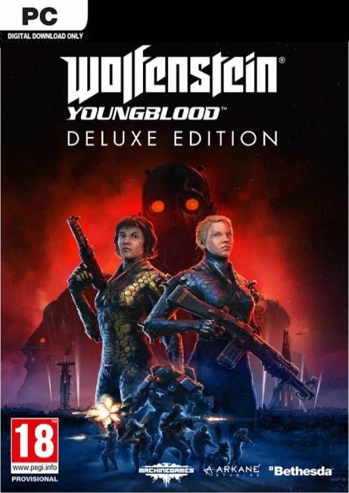 Wolfenstein: Youngblood Deluxe Edition sur PC (Dématérialisé - Bethesda.net)