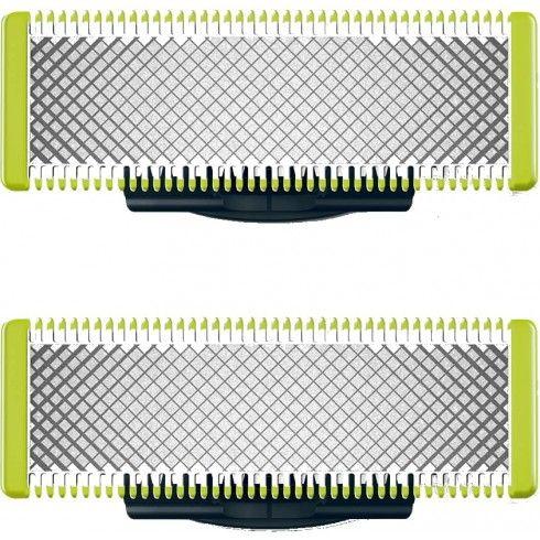Pack de 2 lames Philips OneBlade QP220/55 (le-comptoir-du-barbier.f)