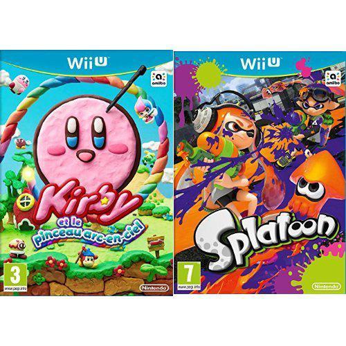 Pack Kirby et le Pinceau Arc-en-ciel + Splatoon sur Wii U