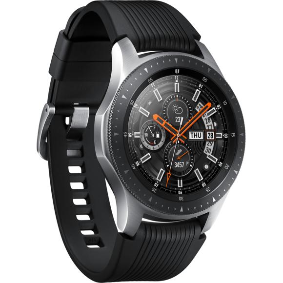 Montre connectée Samsung Galaxy Watch - 46mm - Gris Acier (+22€ en SuperPoints)