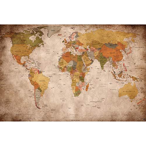 Carte du monde 140x100cm (vendeur tiers)