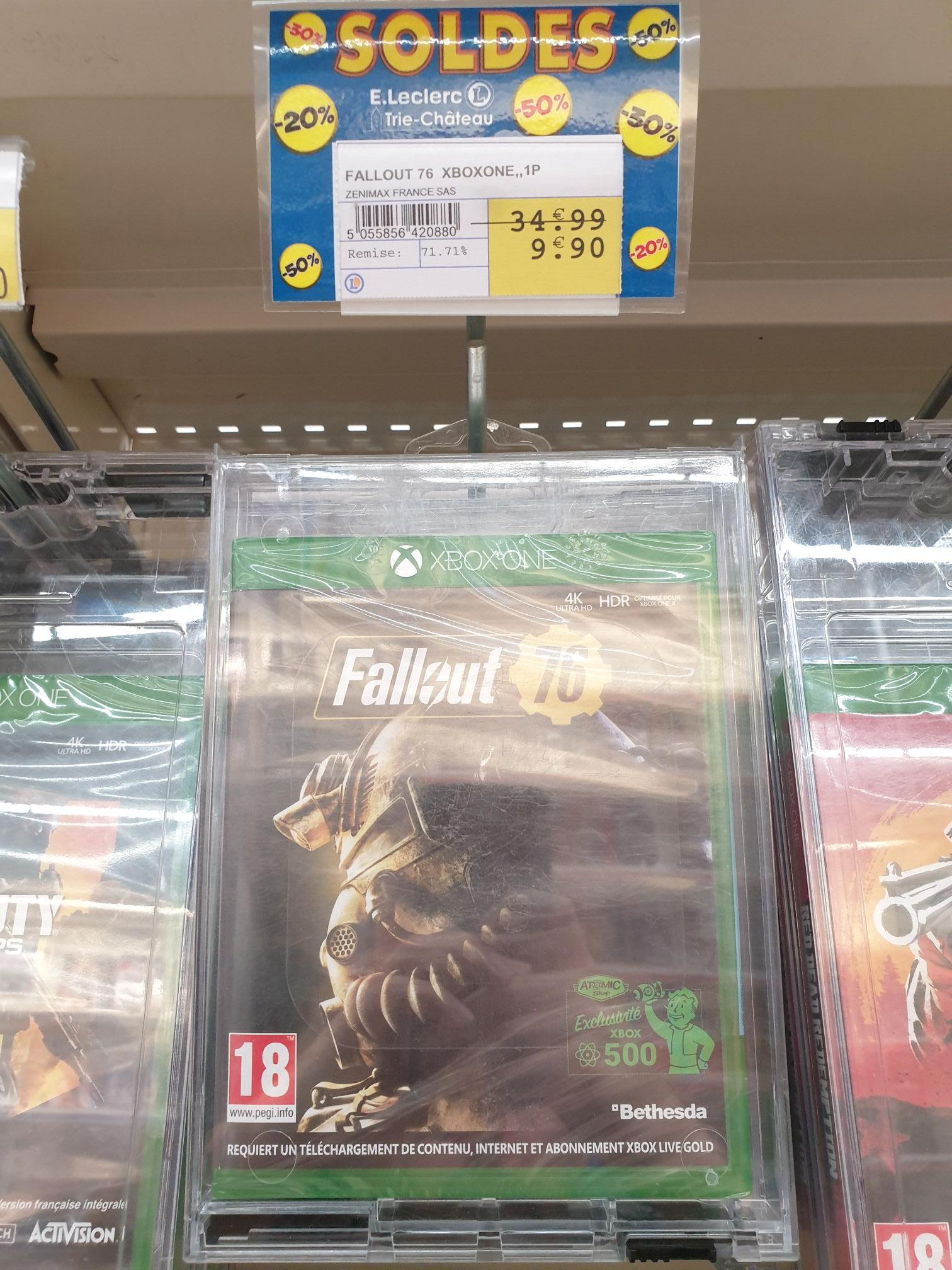 Fallout 76 sur Xbox One - Trie Château (60)