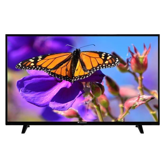 """[CDAV] TV 55"""" Continental Edison CELED554K0119B3 - LED, 4K UHD (+ Offre spéciale éventuelle)"""