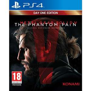 Sélection de Jeux en Promotion sur PS4 / Xbox One / Wii U - Ex : Metal Gear Solid V : The Phantom Pain Day One Edition