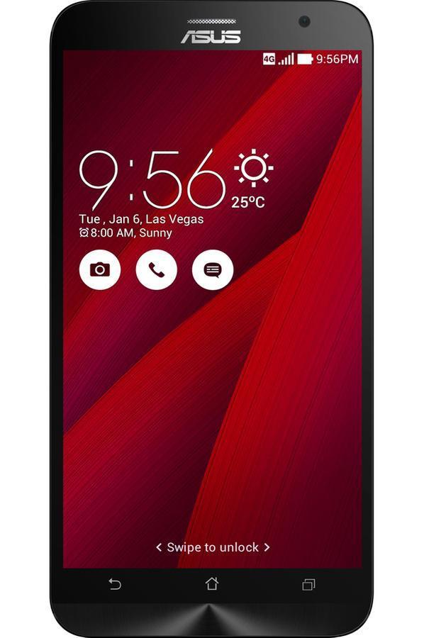 """Smartphone 5.5"""" Asus Zenfone  2 ZE551ML 16Go - rouge"""
