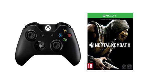 Manette Xbox One + Mortal Kombat X (démat)
