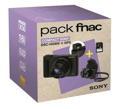 [Adhérent] Appareil photo numérique Sony DSC-HX90V + Etui + Carte SD 8 Go (avec ODR 40€)