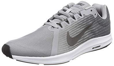 Chaussures de running Nike Downshifter 8 - Femme, Gris et blanc, du 36 au 39