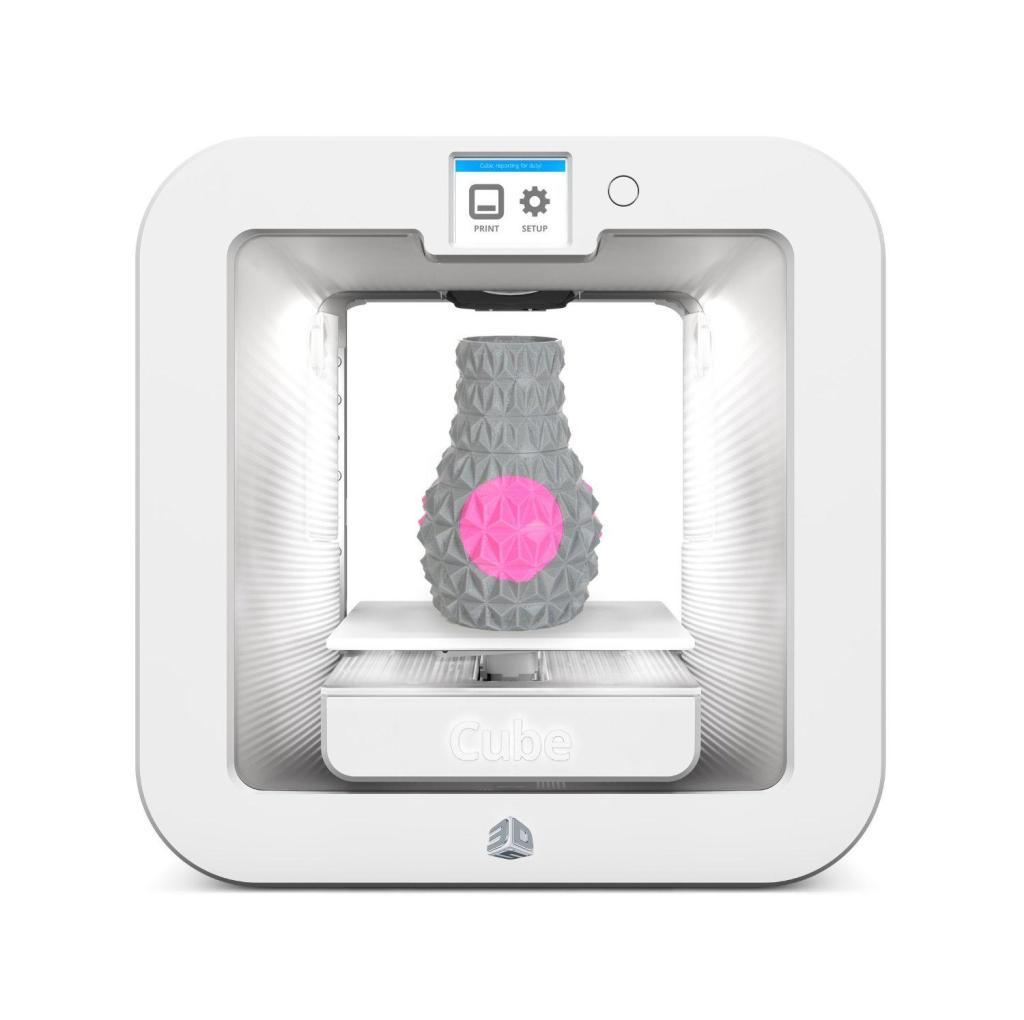 Imprimante 3D System Cube - Blanc