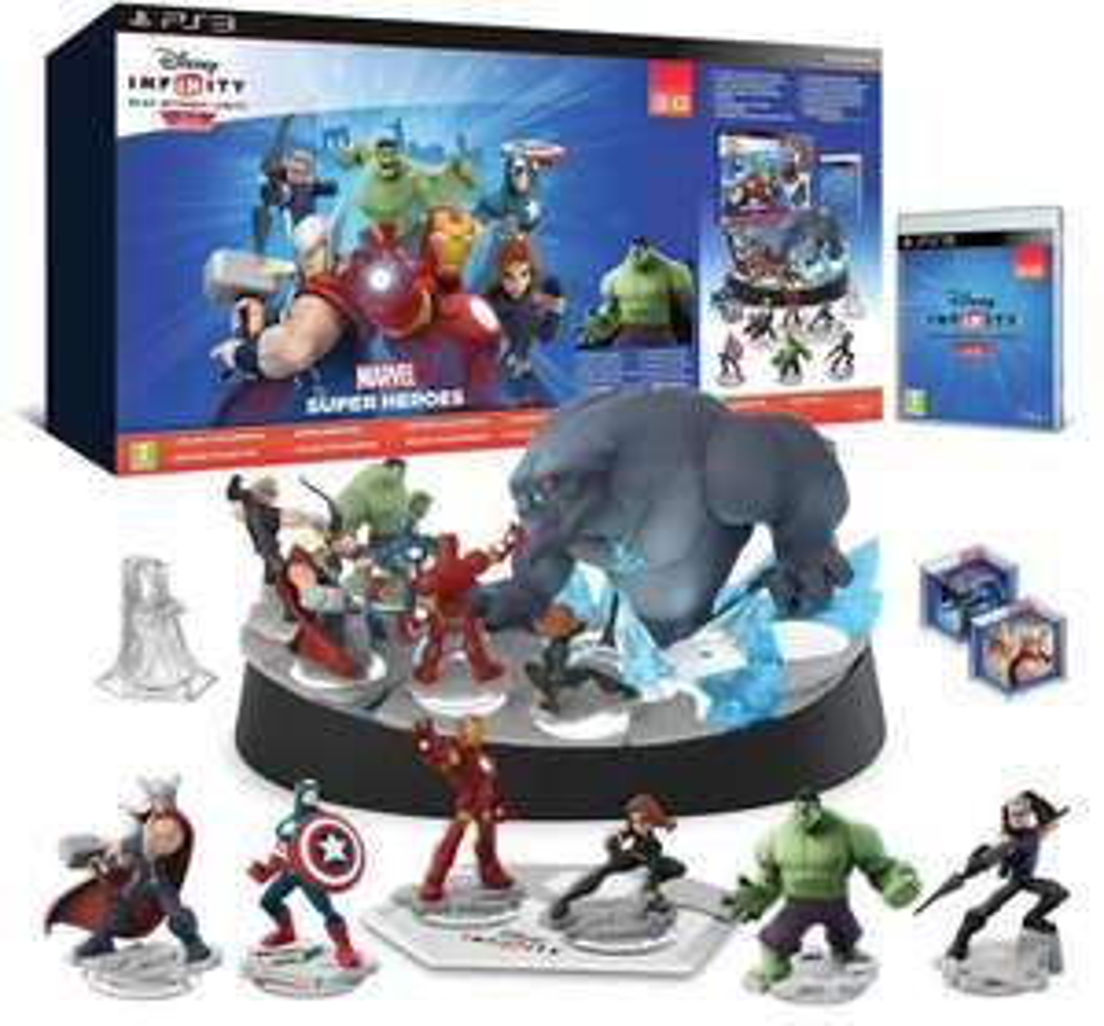 Disney infinity 2.0: Marvel Super Heroes - Edition collector sur PS3