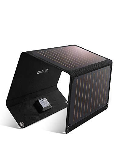 Chargeur Solaire RAVPower - 21W, 2 Ports USB (Vendeur tiers)