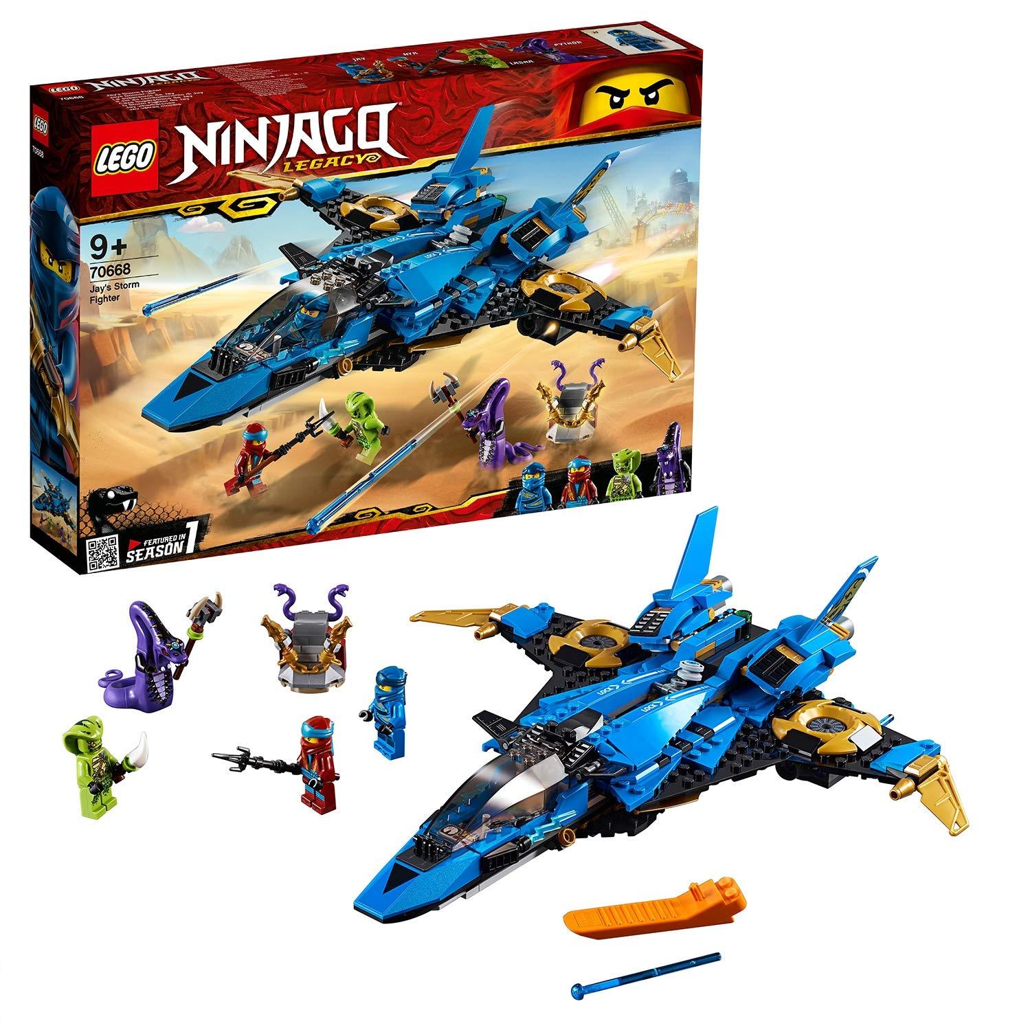 Jeu de construction Lego Ninjago Le supersonic de Jay n°70668
