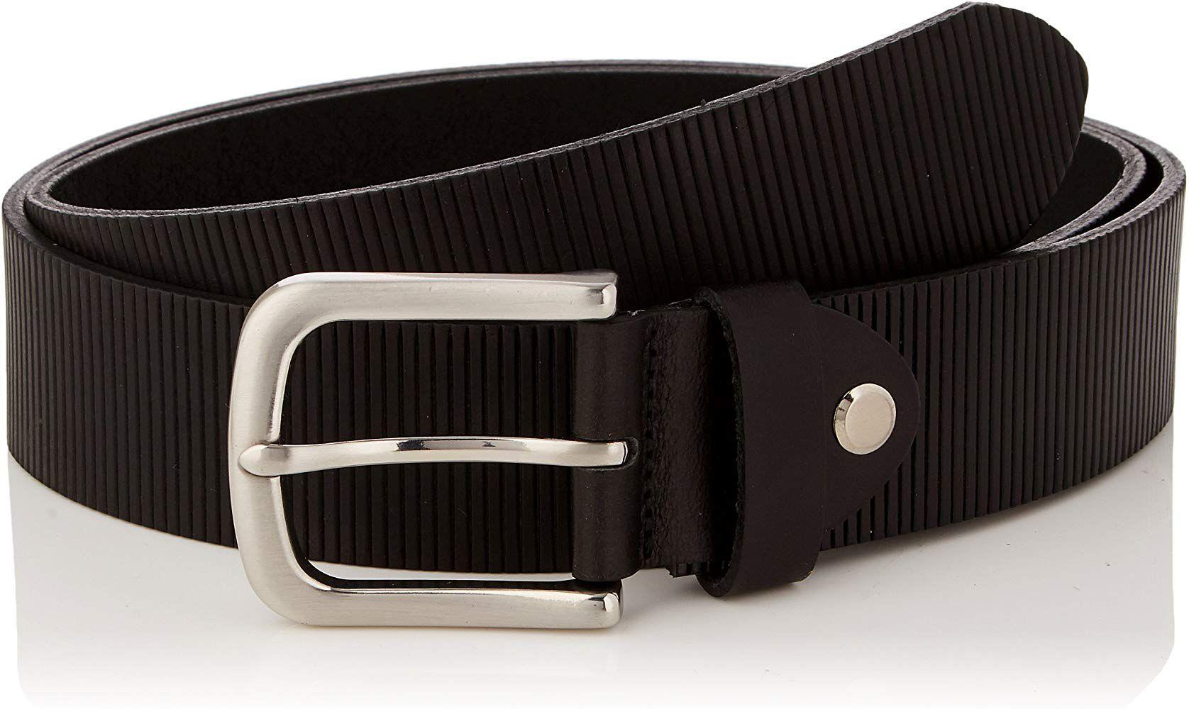 Ceinture en cuir MLT Belts & Accessoires Phoenix - Tailles et couleurs au choix