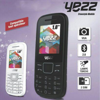 Téléphone portable Yezz C21