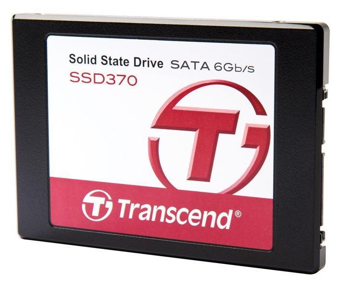 """SSD interne 2.5"""" Transcend 370 (Mémoire MLC) - 256 Go"""