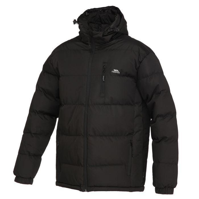 Doudoune Homme Trespass Noire (Tailles S à XL)