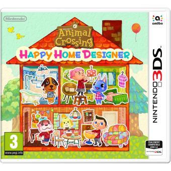 Animal Crossing Happy Home Designer sur 3DS - Boitier UK (Vendeur tiers)